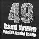 49 Animated Hand Drawn Social Media Icons - VideoHive Item for Sale