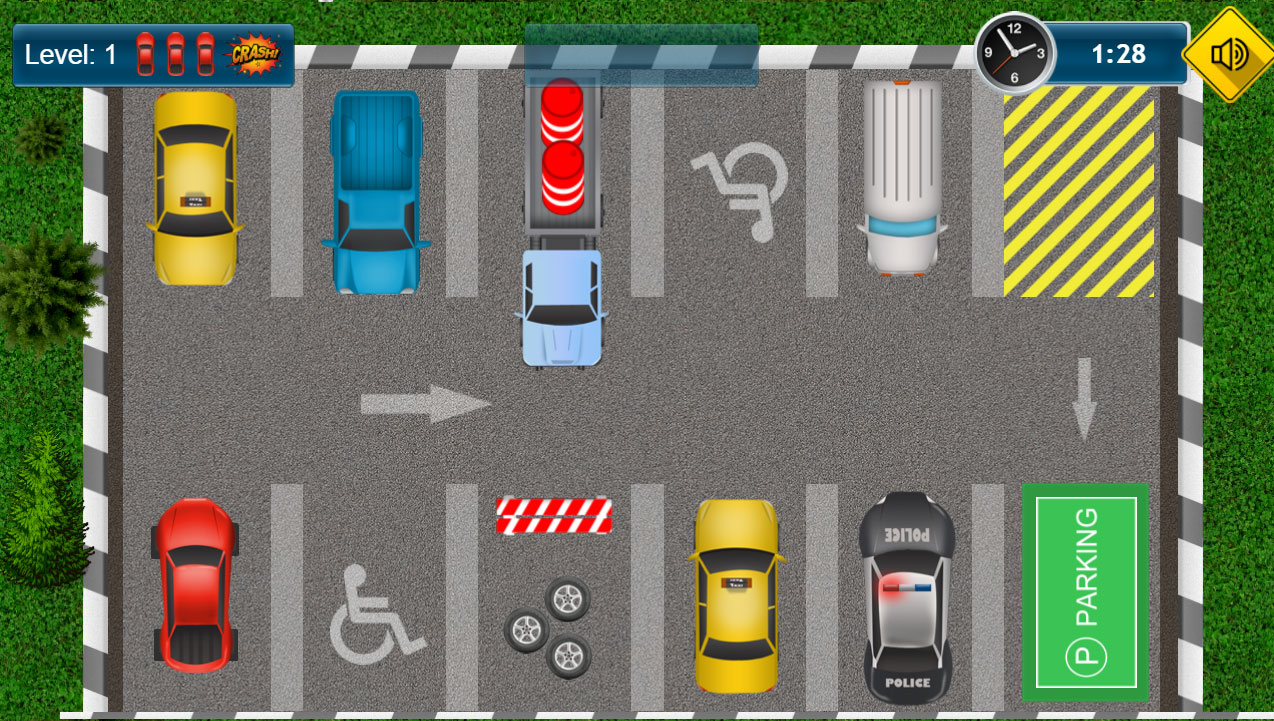 Parking game - HTML5 Car Park Game (CAPX included) by dexterfly ...