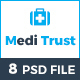 Meditrust - Medical PSD Template - ThemeForest Item for Sale