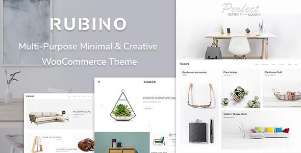 Rubino – Minimal & Creative WooCommerce Theme