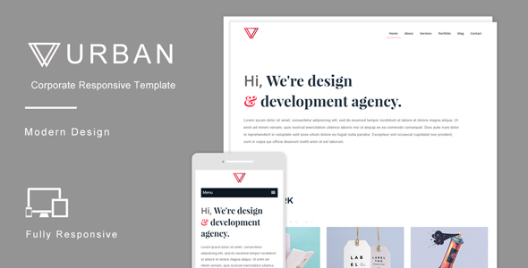 Urban – Multipurpose Responsive HTML Template