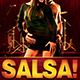 Salsa Caliente Flyer Template - GraphicRiver Item for Sale