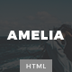 Amelia - Minimal Blog & Magazine Template Nulled