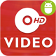HD Video with Material Design