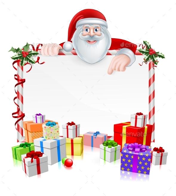 Christmas Sign - Seasons/Holidays Conceptual