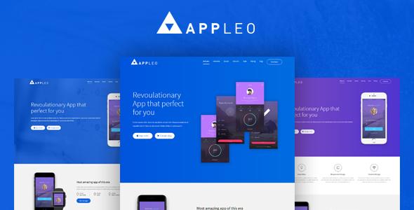 Appleo App Landing Page HTML Template