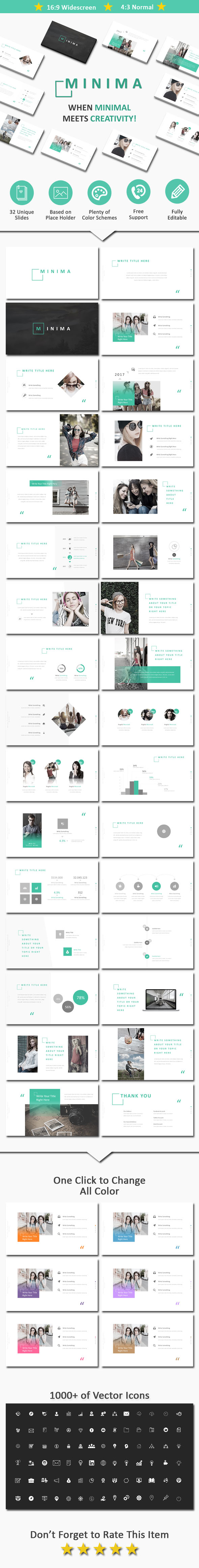 Minima - Business PowerPoint Templates