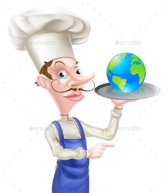 World Food Concept - Miscellaneous Vectors