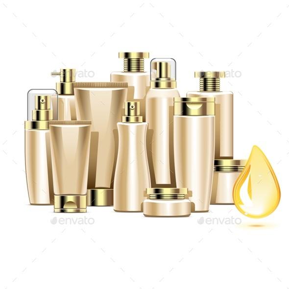 Nourishing Cosmetics - Health/Medicine Conceptual