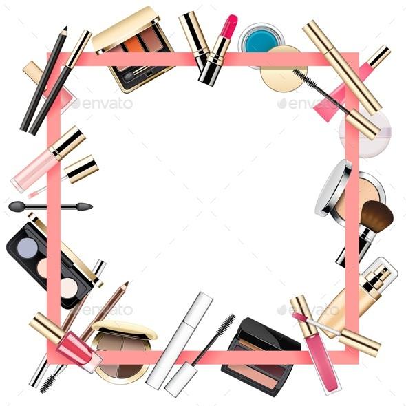 Makeup Frame - Borders Decorative