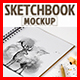 Sketchbook Mockup & Sketch Actions - GraphicRiver Item for Sale