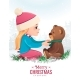 Girl with a Bear - GraphicRiver Item for Sale