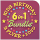 Kids Birthday Party Flyers and DVD Covers Super Bundle - GraphicRiver Item for Sale