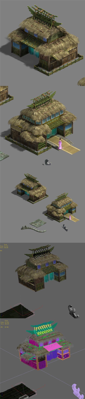 Xinshoucun - Dwelling Cottage - 3DOcean Item for Sale