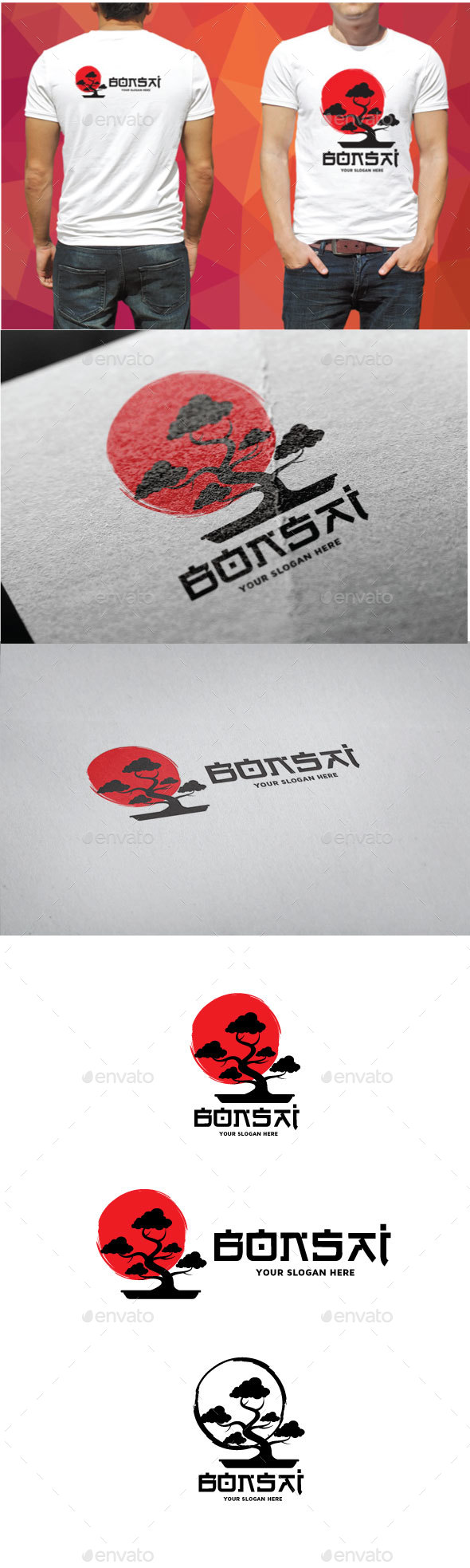 Bonsai Logo - Objects Logo Templates