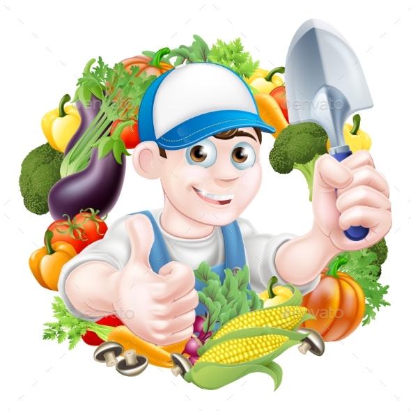 Vegetable Gardener - Food Objects