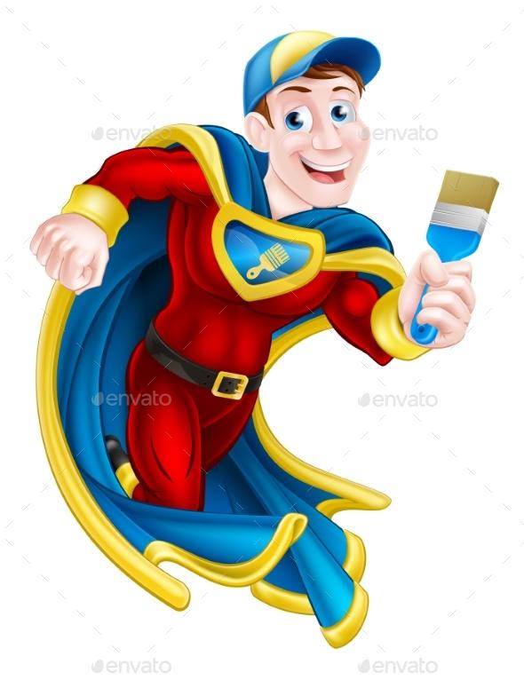 Superhero Decorator - People Characters