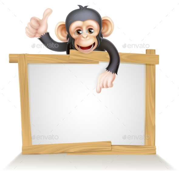 Monkey Sign - Animals Characters