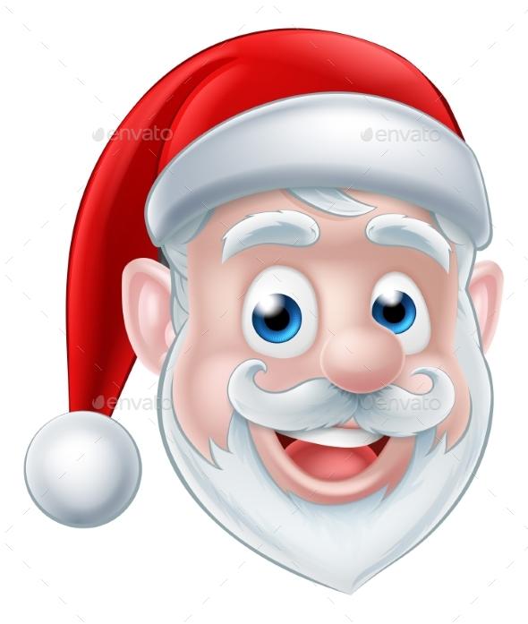 Santa Cartoon - Seasons/Holidays Conceptual