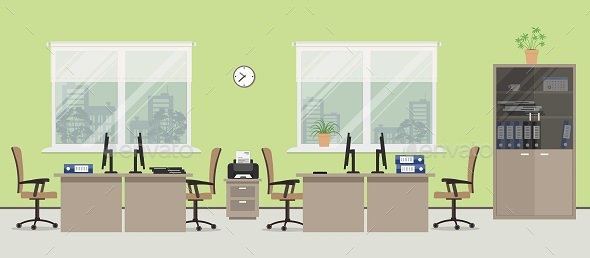 Office - Backgrounds Business