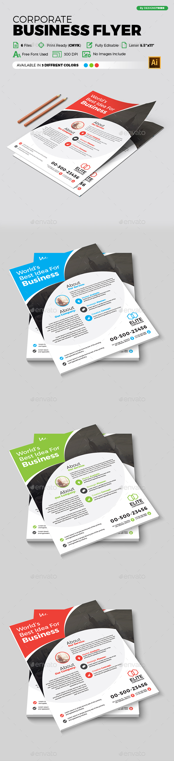 Flyer – Multipurpose 312 - Corporate Flyers