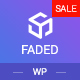 Faded - Responsive App Landing Page WordPress Theme - ThemeForest Item for Sale