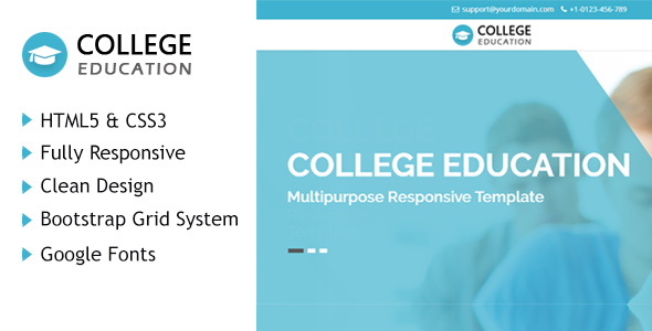 College Education HTML Responsive Template