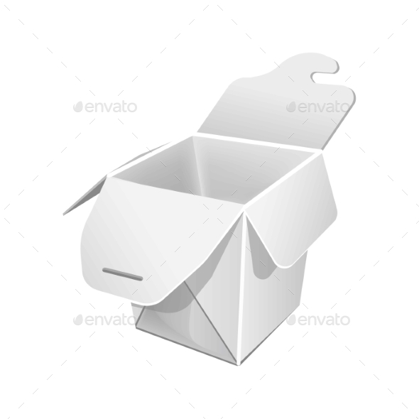 Food Packaging Blank - Man-made Objects Objects