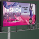 Fashion Show Billboard - GraphicRiver Item for Sale
