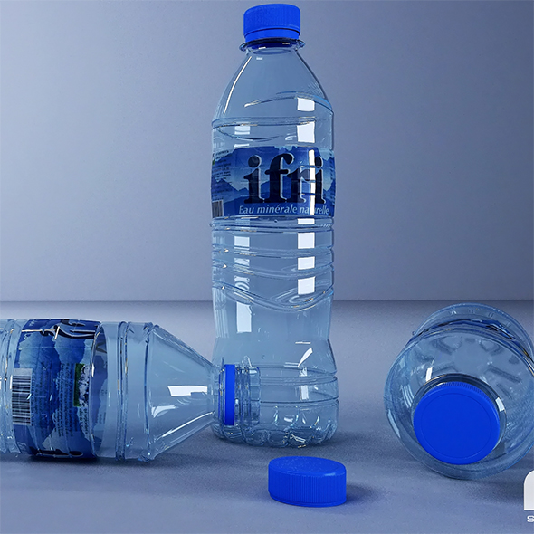 bottle water - 3DOcean Item for Sale