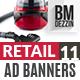 Retail 11 Banner Ads