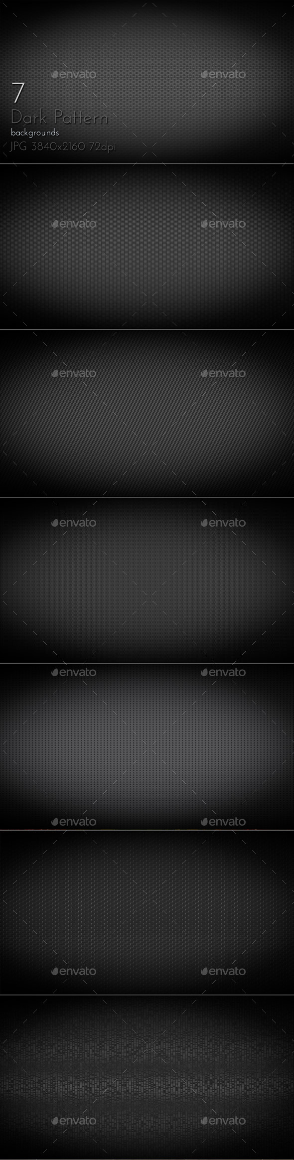 Dark Pattern - Patterns Backgrounds