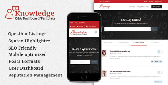 InfoCenter – Knowledge Base and Q/A WordPress Theme