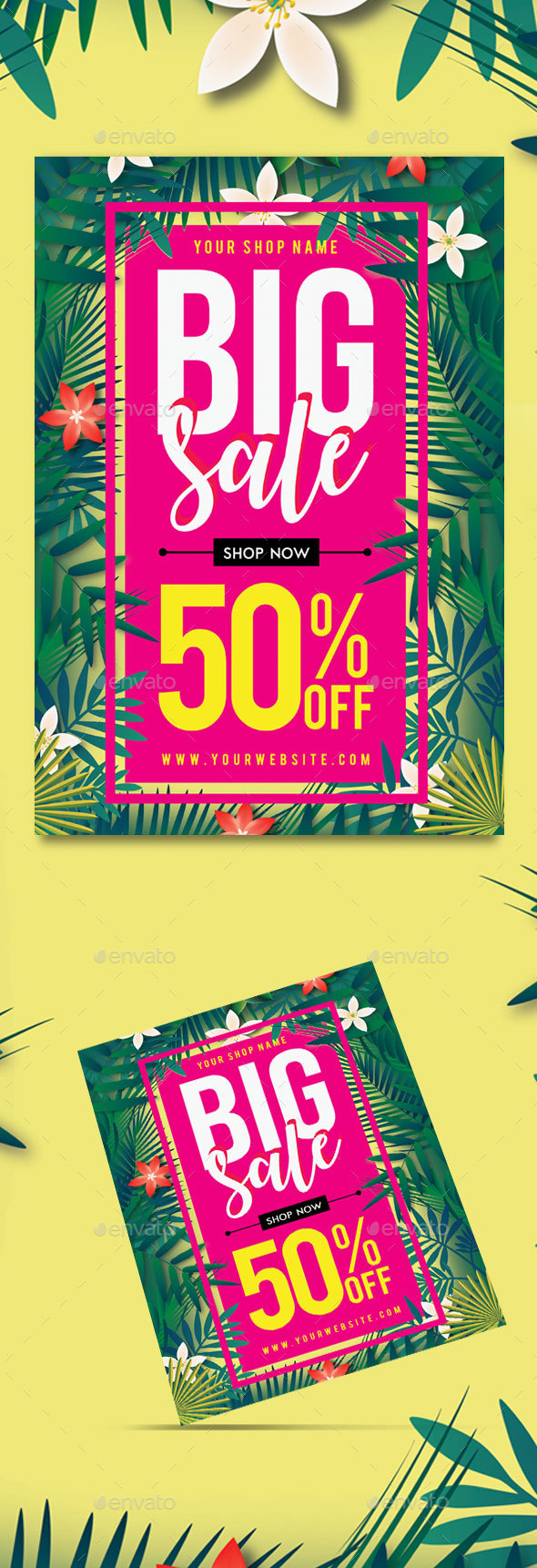 Summer Big Sale Flyer - Commerce Flyers