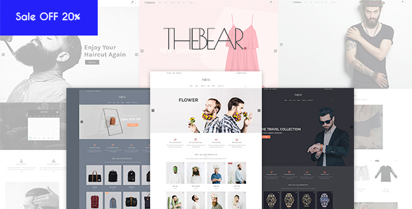 Thebear Shopify Theme