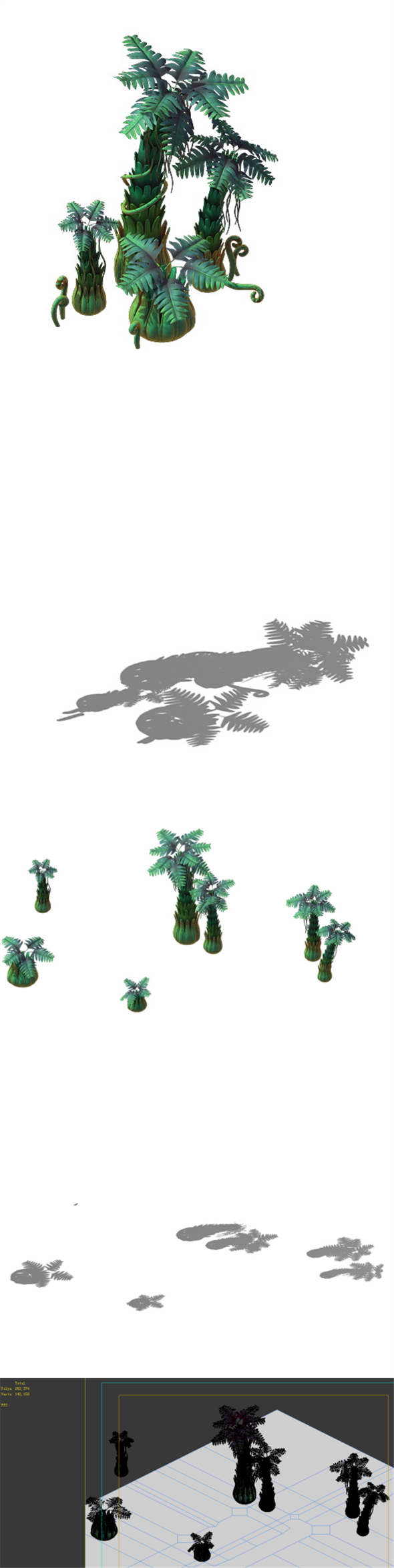 Game Model - poison Valley scenes - the poisonous tree - 3DOcean Item for Sale