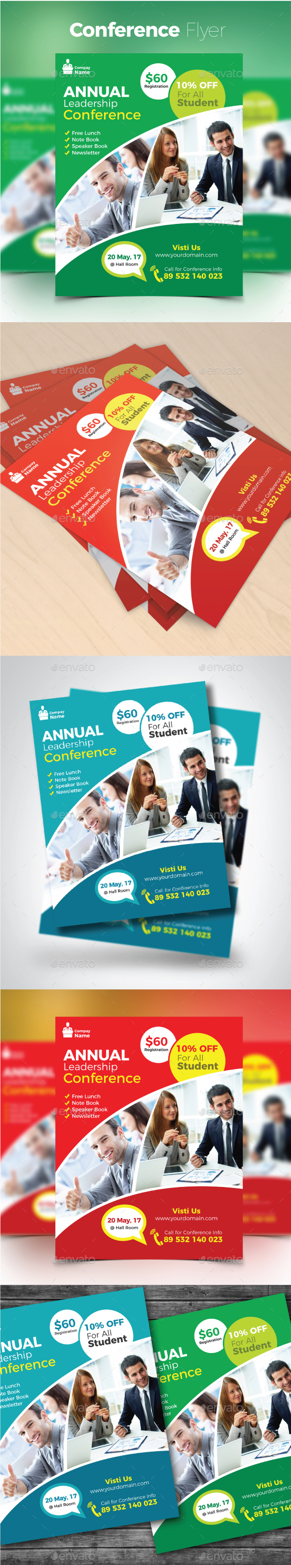 Conference Flyer - Corporate Brochures