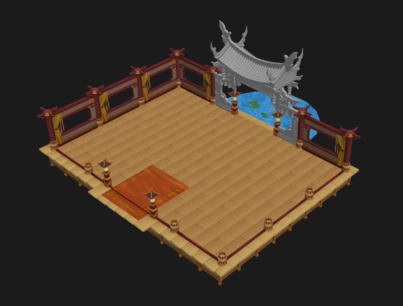 Game Model - Ancient Chinese Architecture