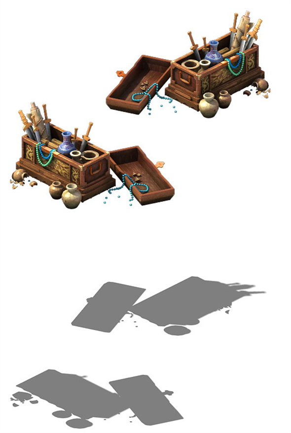 Game Model - Jewelry Box - 3DOcean Item for Sale