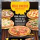 Pizza Menu Restaurant Promotion Template for Poster / Flyer