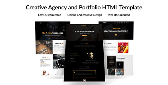 Creative Agency- Multipurpose Responsive Template