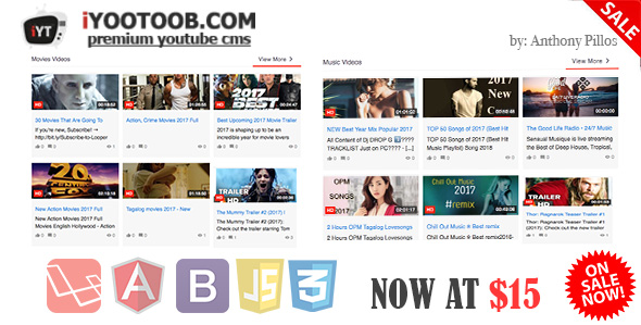 iYOOTOOB - PREMIUM YOUTUBE CMS - CodeCanyon Item for Sale