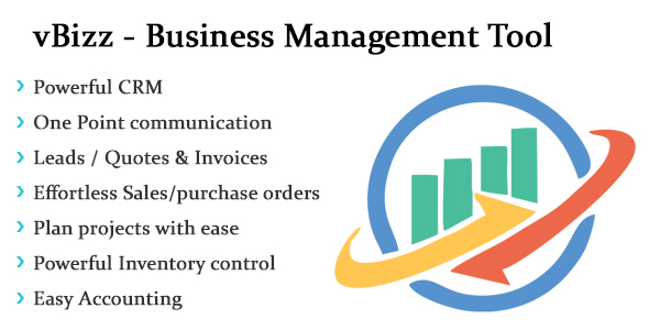 vBizz - Business Management Tool - CodeCanyon Item for Sale