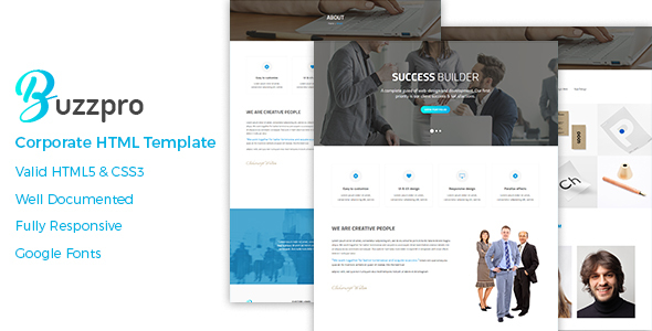 Buzzpro – Corporate HTML Template
