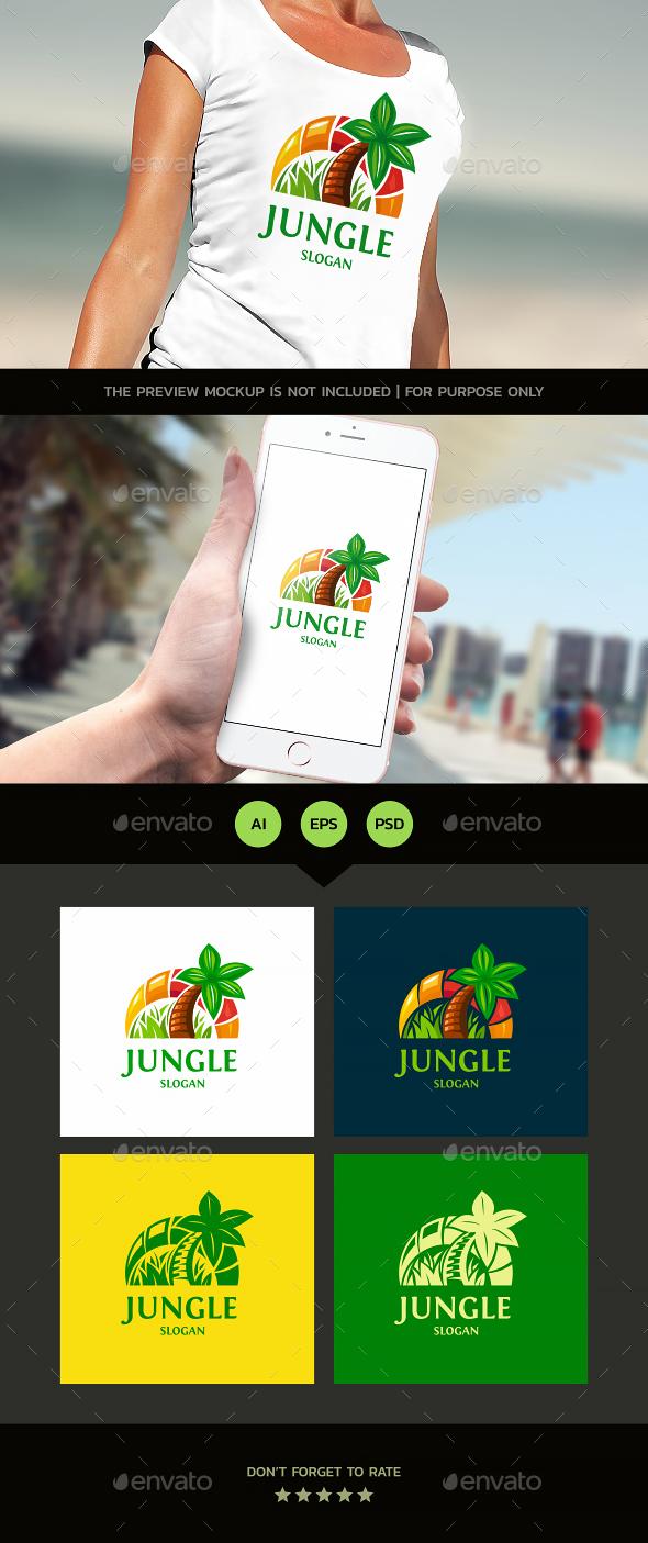 Palm - Nature Logo Templates