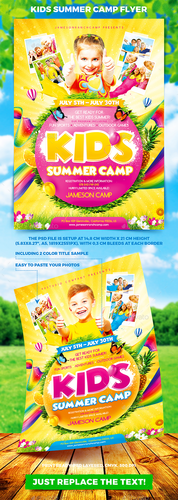 Kids Summer Camp Flyer - Miscellaneous Events