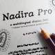 Nadira Pro | Greek Cyrillic Latin