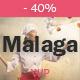 Malaga - A WordPress Theme for Food Bloggers Nulled
