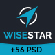 WiseStar - Finance & Business PSD Template - ThemeForest Item for Sale