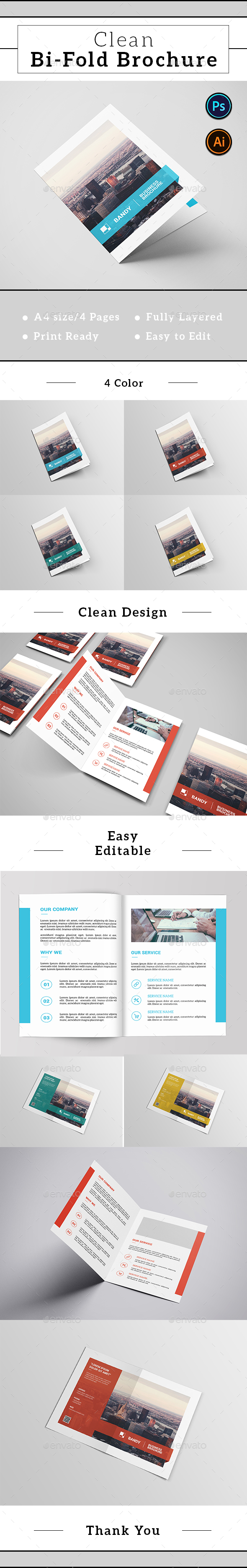 Corporate Bifold Brochure-v419 - Corporate Brochures